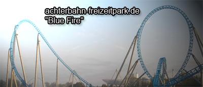 Blue Fire Achterbahn