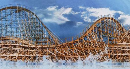 Europapark neue Achterbahn 2012 Holzachterbahn WODAN Timbur Coaster