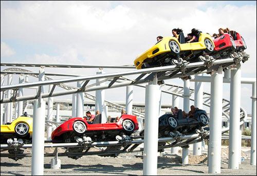 Fiorano GT Challenge Achterbahn