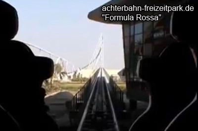 Formula Rossa Achterbahn