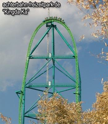Kingda Ka Höchste Achterbahn