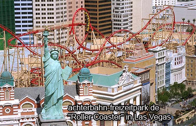 Roller Coaster in Las Vegas
