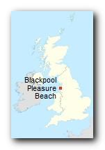 Blackpool Pleasure Beach Standort