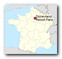Disneyland Park Paris Standort