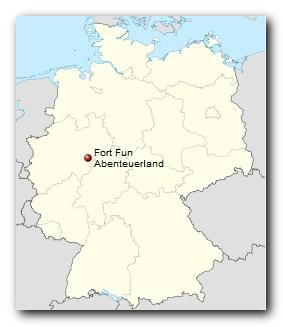 FORT FUN Abenteuerland Standort