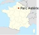 Parc Astérix Standort