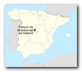 Parque de Atracciones de Madrid Standort