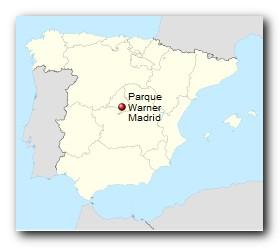 Parque Warner Madrid Standort