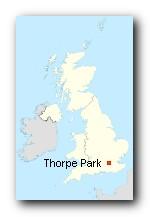 Thorpe Park Standort