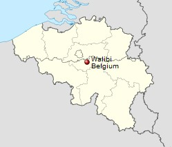 -Walibi Belgien Standort