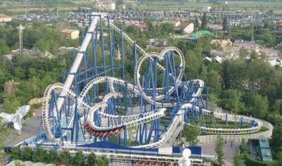 Blue Tornado Gardaland
