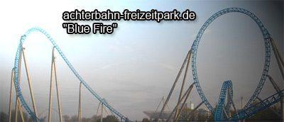 Blue Fire Achterbahn Europa-Park