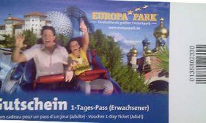 Gutschein Freizeitpark